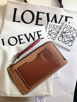LOEWE Bi-color Leather Small Wallet Coin Cases