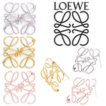 LOEWE Anagram Casual Style Unisex Clover Flower Street Style Party Style