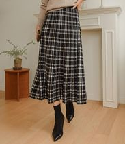 Other Plaid Patterns Long Maxi Skirts