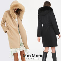Max Mara Studio Casual Style Street Style Long Party Style Office Style