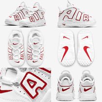 Nike AIR MORE UPTEMPO Unisex Street Style Baby Girl Shoes