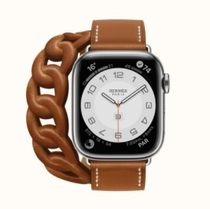 HERMES Leather Digital Watches