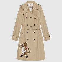 GUCCI Casual Style Collaboration Other Animal Patterns Long