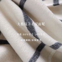 Since Then Other Plaid Patterns Wool Party Style Elegant Style Coats