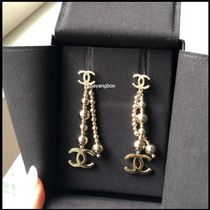 CHANEL Costume Jewelry Casual Style Initial Party Style