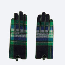 Uterque Leather Leather & Faux Leather Gloves