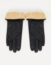 ASOS Street Style Leather Leather & Faux Leather Gloves