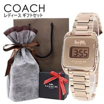 Coach Casual Style Street Style Square Party Style Stainless